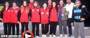 Η αποστολή της Παναχαϊκής που αναχώρησε για την Αθήνα και το πρωταθλημα Α' Κατηγορίας...